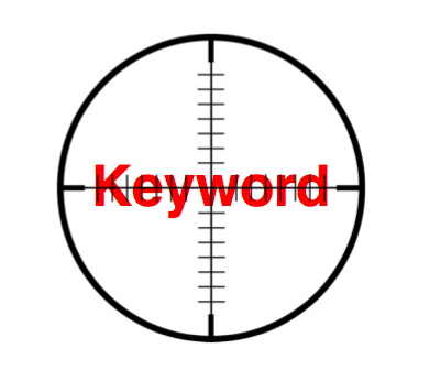 target seo keyword